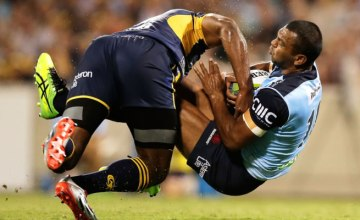 Tevita Kuridrani has been warned for a dangerous tackle on Kurtley Beale