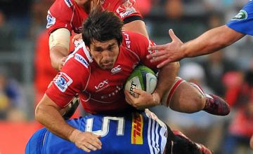 Warwick Tecklenburg in action for the Lions against the Stormers