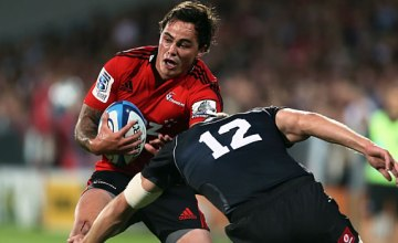 Zac Guildford was one of the Crusaders stars when they played the Southern Kings in 2013