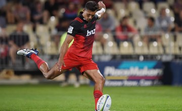 Ben Volavola starts at fullback for the Crusaders