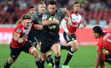 Ryan Crotty scored a hat trick of tries for the Crusaders