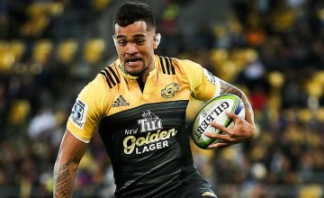 Lock Vaea Fifita scored two tries for the Hurricanes