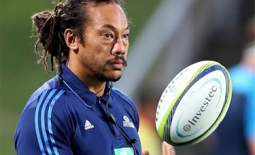 Tana Umaga will step down as Super rugby head coach