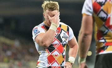 Chris Cloete will not play Super Rugby again this season