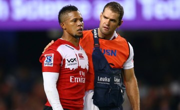 Elton Jantjies will have a scan on his knee