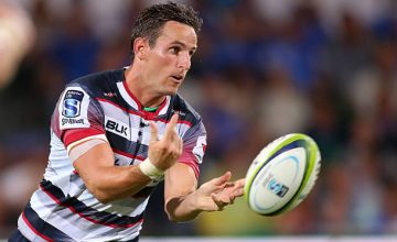 Mike Harris starts at fullback for the Rebels