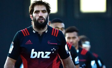 Sam Whitelock will captain the Crusaders this weekend