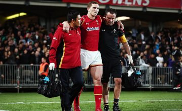 George North will miss Wales' remaining matches