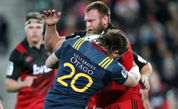 Joe Moody has been suspended for two weeks of Super Rugby