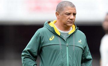 Springbok head coach Allister Coetzee
