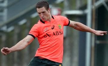 Johan Goosen starts for the Springboks at fullback