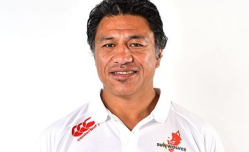 Filo Tiatia has been tipped to be the new Sunwolves head coach
