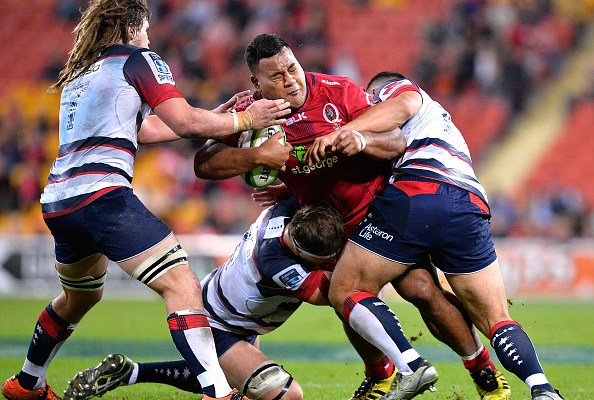 Taniela Tupou will play Super Rugby this weekend for the Reds against the Brumbies