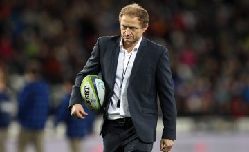 Highlanders super rugby head coach Tony Brown