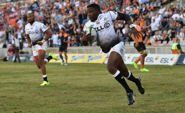 Lwazi Mvovo of the Sharks