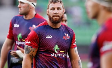 Reds Super Rugby captain Scott Higginbotham has been slapped with a three week ban