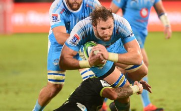 RG Snyman of the Bulls Super Rugby team