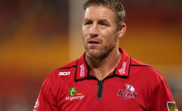 Queensland Reds Super Rugby coach Brad Thorn