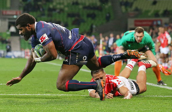 Marika Koroibete has re-signed with the Rebels for Super rugby in 2019