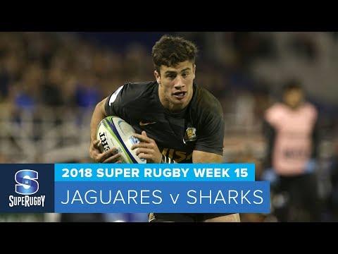 Super Rugby, Super 15 Rugby, Super Rugby Video, Video, Super Rugby Video Highlights ,Video Highlights, Jaguares, Sharks , Super15, Super 15, SuperRugby