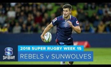 Super Rugby, Super 15 Rugby, Super Rugby Video, Video, Super Rugby Video Highlights ,Video Highlights, Rebels, Sunwolves, Super15, Super 15, SuperRugby
