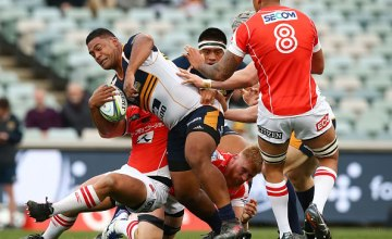 Scott Sio of the Brumbies will win his 100th Brumbies Super Rugby cap