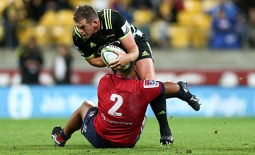 Toby Smith of the Hurricanes will play his 100th Super rugby match