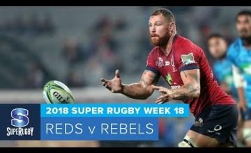 Super Rugby, Super 15 Rugby, Super Rugby Video, Video, Super Rugby Video Highlights ,Video Highlights, Reds, Rebels , Super15, Super 15, SuperRugby