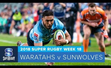 Super Rugby, Super 15 Rugby, Super Rugby Video, Video, Super Rugby Video Highlights ,Video Highlights, Waratahs, Sunwolves , Super15, Super 15, SuperRugby