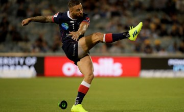Quade Cooper of the Rebels