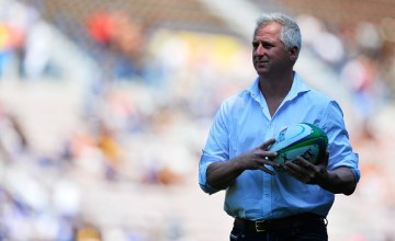 Robbie Fleck (Head Coach of the Stormers) prior a Super Rugby match