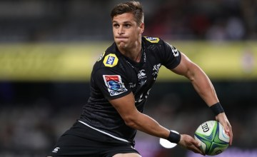 Louis Schreuder of the Sharks during a Super Rugby match b
