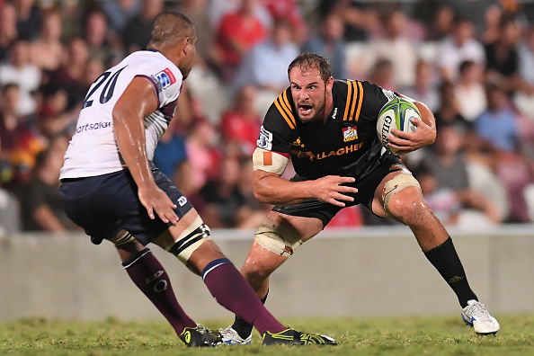 Tyler Ardron will play Super rugby at lock this weekend