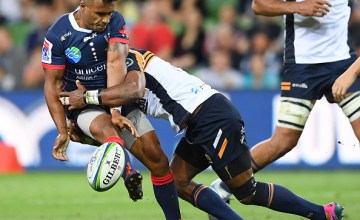 Will Genia inspires Melbourne Rebels fightback against the Brumbies at AAMI Park, Melbourne