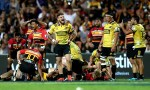 TJ Perenara of the Hurricanes