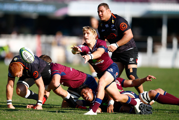 Tate McDermott was excellent in the Reds' victory over the Sharks at Kings Park, Durban