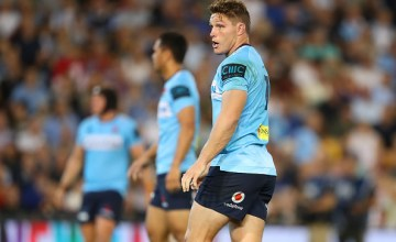 Michael Hooper has stood down as captain of the Waratahs