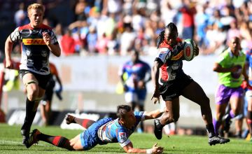 Seabelo Senatla of DHL Stormers during the Super Rugby match between DHL Stormers and Vodacom Bulls
