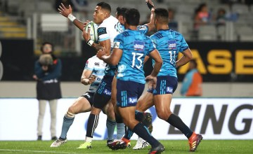 Israel Folau of the Waratahs becomes Super rugby's all time top try scorer