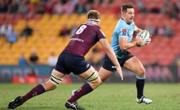 A Super Rugby match between the Reds and the Waratahs at Suncorp Stadium