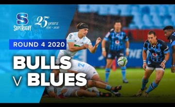 Bulls v Blues Rd.4 2020 Super rugby video highlights