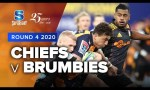 Chiefs v Brumbies Rd.4 2020 Super rugby video highlights