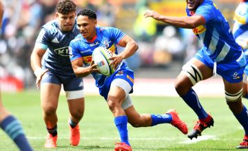 Herschel Jantjies starred for the Stormers in their 22-0 victory over the Hurricanes at Newlands, Cape Town