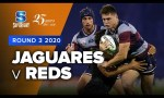 Jaguares v Reds Rd.3 2020 Super rugby video highlights