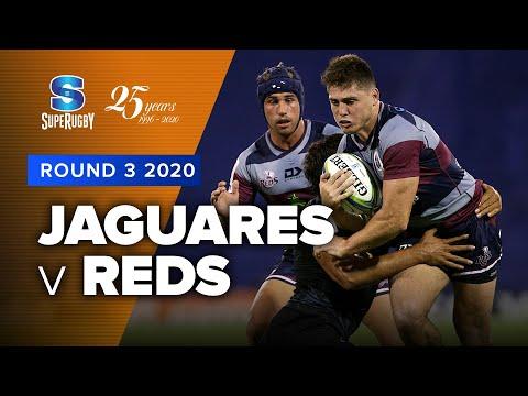 Jaguares v Reds Rd.3 2020 Super rugby video highlights