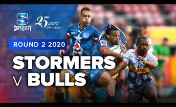 Stormers v Bulls Rd.2 2020 Super rugby video highlights