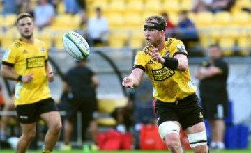 Gareth Evans starts for the Hurricanes this weekend
