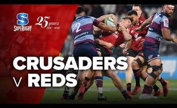 Crusaders v Reds Rd.6 2020 Super rugby video highlights