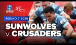 Sunwolves v Crusaders Rd.7 2020 Super rugby video highlights