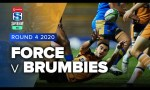 Force v Brumbies Rd.4 2020 Super rugby AU video highlights